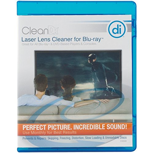 Digital Innovations CleanDr for Blu-Ray Laser Lens Cleaner for Blu-Ray / DVD / PS3 / PS4 / XBOX / XBOX 360 / XBOX ONE (4190300) Discount Ps3 Games