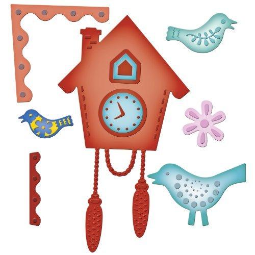 Spellbinders Cuckoo Clock - Paper Samantha Walker
