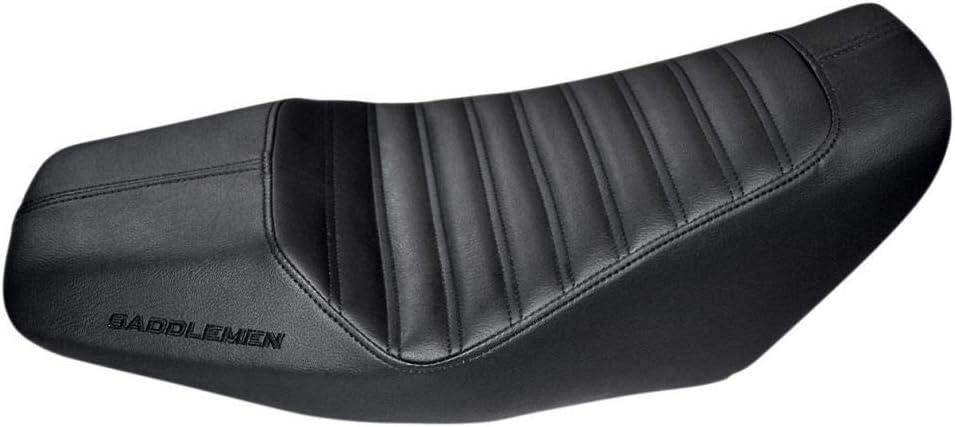 Saddlemen SaddleHyde Low Seat for 14-15 Honda Grom Black with Carbon Fiber Look