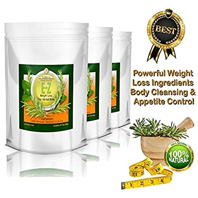 Easy E-Z THE BEST Weight Loss Diet Tea - Appetite Control, Body Cleanse and Detox Tea. One Pound a Day Weight Loss Slimming Tea.