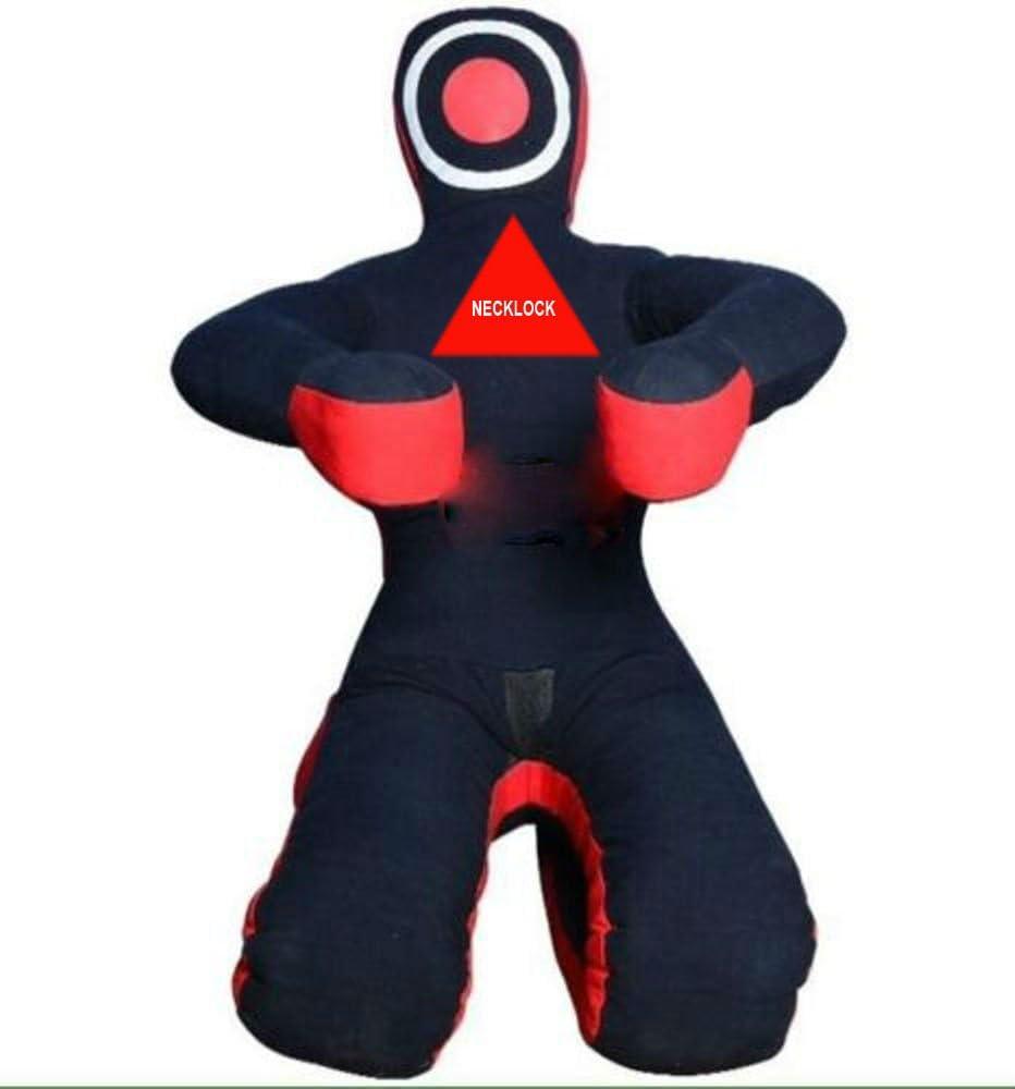 """MMA Grappling dummy wrestling bag70/"""" black"""