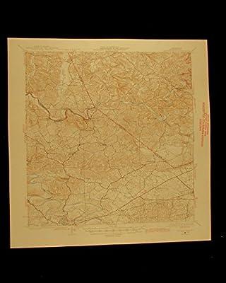 Brownsville Kentucky vintage 1946 original USGS Topographical chart