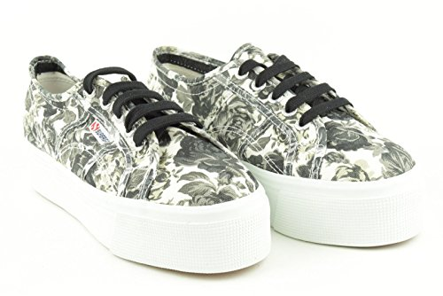 Chaussures Blanc Superga Noir Neuf Fantasy Femme Casual 2790 ggwBSO