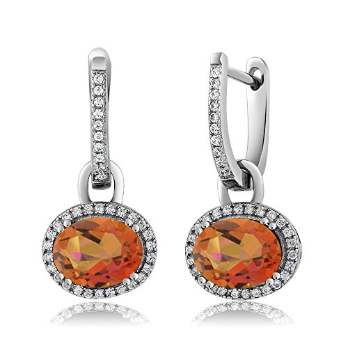 orange gem stone - 2