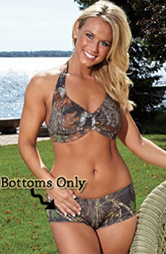 Weber Camo Leather Goods Mossy Oak Break-Up Boy Short Bottom-M