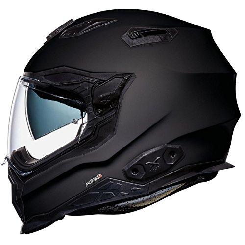 Nexx X.WST 2 XWST Plain Black MT Full Face Face Touring Motorcycle Helmet (L)