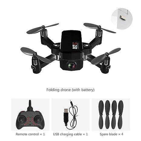 Drone Cámara HD, RC Drone WiFi, Drone Cuadricópteros RC, Cámara ...