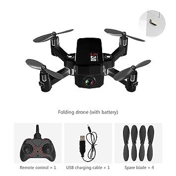 RC Drone, 2.4G Lente Gran Angular Cámara HD FPV WiFi Quadcopter ...