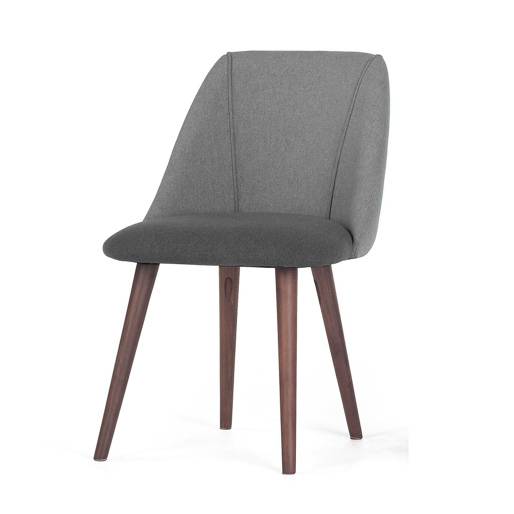 3 Chair, Northern Europe Modern Simple Solid Wood Dining Chair Coffee Chair Sofa Chair HBZY (color    3)