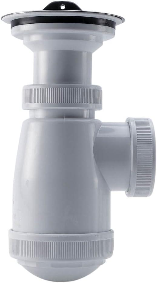 Adequa B-3R-A Sif/ón Sencillo Botella Recto con V/álvula Extensible
