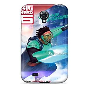Scratch Protection Hard Cell-phone Case For Samsung Galaxy S4 (ppL9182hxQo) Unique Design High-definition Big Hero 6 Pattern