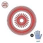 Happylohas Lame di Ricambio in plastica, Lame per tagliaerba, Lame in plastica per Tosaerba 100 Pezzi, Lame tagliabordi… 51HAfH%2B1BNL. SS150