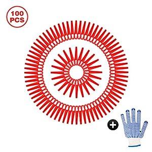 Happylohas Lame di Ricambio in plastica, Lame per tagliaerba, Lame in plastica per Tosaerba 100 Pezzi, Lame tagliabordi… 51HAfH%2B1BNL. SS300