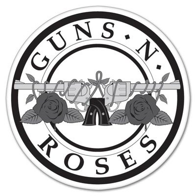 Guns N' Roses Vynil Car Sticker Decal - Select Size ()