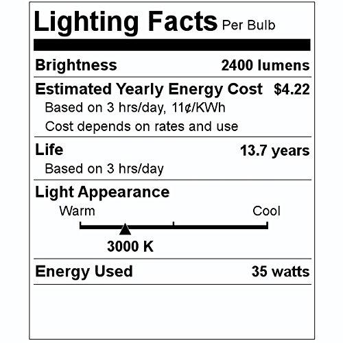 Philips 418939 - CDM-MR16/35W/930/10D ELITE 35 watt Metal Halide Light Bulb