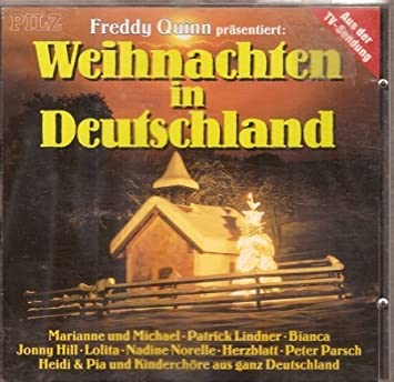 Präsentiert Weihnachten in Deutschland by Freddy Quinn: Amazon.co ...