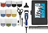 Wahl Men's Clippers Complete 17-Piece Barbers Kit, with Color Coded Attachment Combs