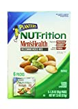 Planters Nutrition men`s Health Recommended Mix Peanuts,Almonds,Pistachios 6-Individual Packs in 1- Box