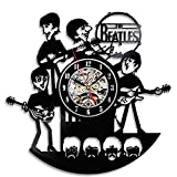 Cheap Cute Funny The Beatles Creative Vinyl Wall Clock Gift