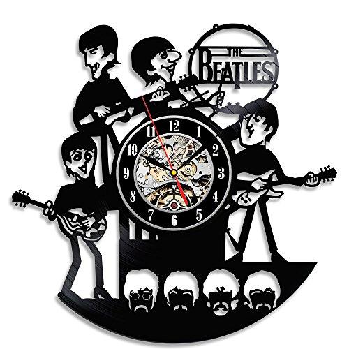 The Beatles Vinyl Wall Clock