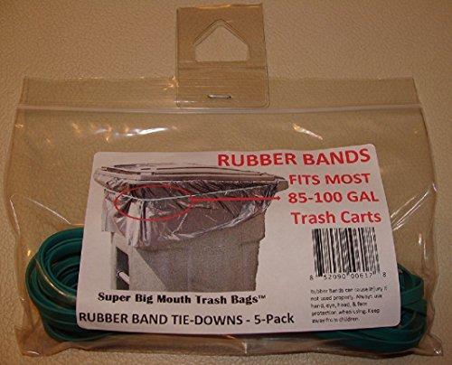Super Mouth Trash Rubber 5 Pack