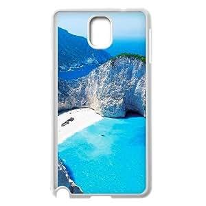 Paradise Islands Zakynthos Greece Samsung Galaxy Note 3 Cell Phone Case White DIY Gift xxy002_5060706