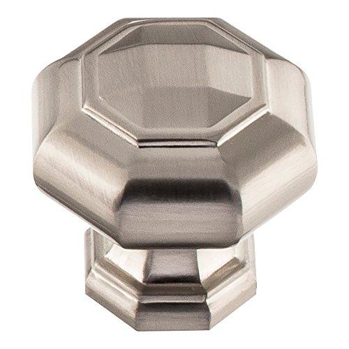 Atlas Homewares 418 Elizabeth 1-3/4 Inch Diameter Geometric Cabinet Knob, Brushed Nickel