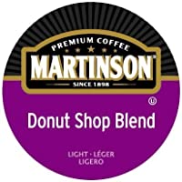 48-Count Martinson Coffee Donut Shop Blend K-Cups