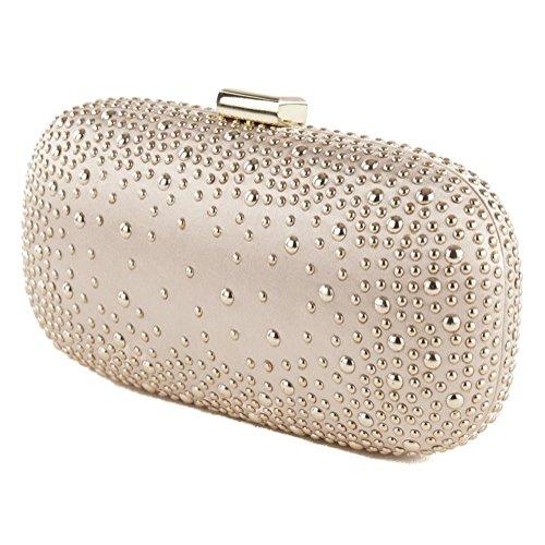 Bolsa de embrague, Morgana Rosa, tela