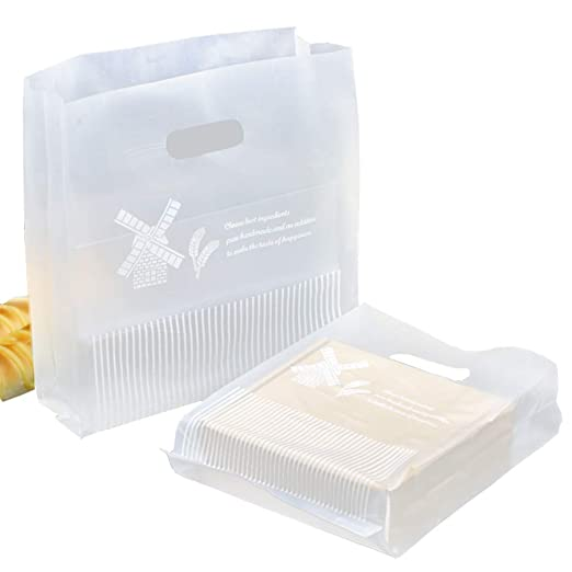 Bolsas de plástico con asas para llevar la compra, tamaño ...