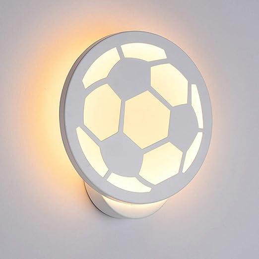 Lailongp - Lámpara de pared con luz LED (acrílico, 12 W, AC90-260 ...