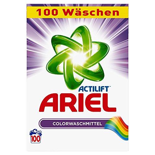 Ariel Waschpulver Color 6.5kg, 1er Pack (1 x 100 Waschladungen)