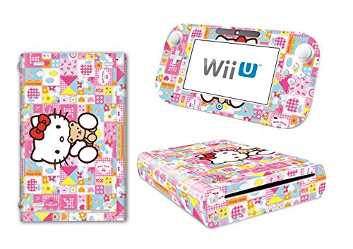 Hello Kitty Code (EBTY-Dreams Inc. - Nintendo Wii U - Sanrio Hello Kitty Vinyl Skin Sticker Decal)