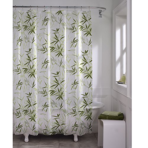 Maytex Zen Garden Waterproof PEVA Shower Curtain by MAYTEX