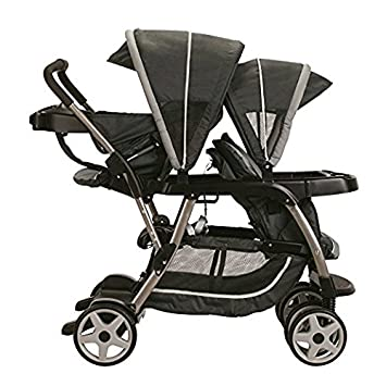 Premium Baby Strollers For Twins Stroller Two Or Double Graco Tandem Accommodates Infant Car Seat Click
