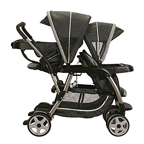Premium Baby Strollers for Twins Stroller Two or Double Graco Tandem Accommodates Infant Car Seat Click Connect Design