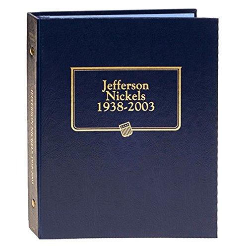 Jefferson Nickel - Whitman US Jefferson Nickel Coin Album 1938 - 2003 #9116