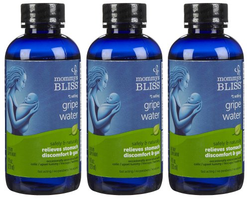 Mommy's Bliss Gripe Water, 4oz, 3 Pack