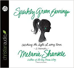 Book Sparkly Green Earrings: Catching the Light at Every Turn