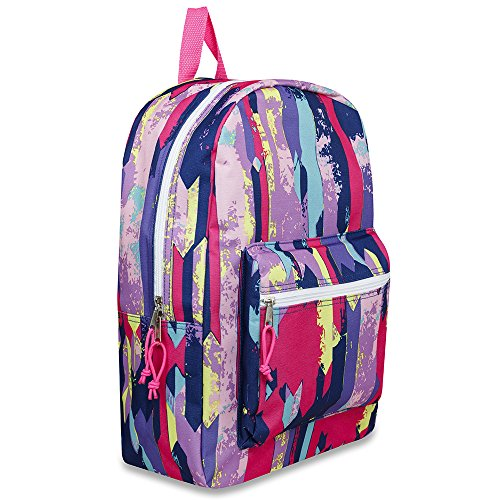 "17"" Trailmaker Backpack Bookbag - Pink Graphic"