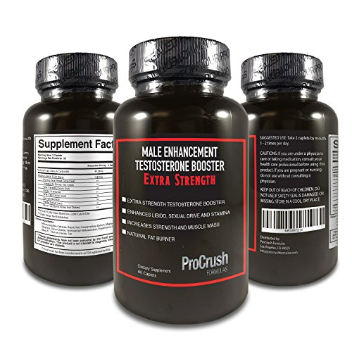 Testosterone Booster and Male Enhancement Supplement- Boosts