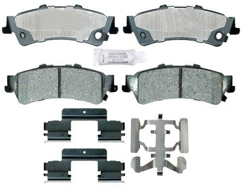 ACDelco 17D792CH Professional Ceramic Rear Disc Brake Pad Set