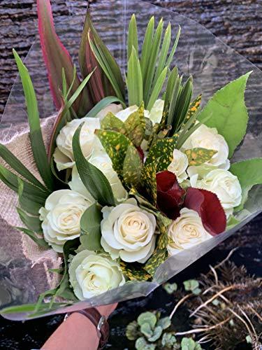 Dream Cut Flowers - 24 Stem Scentsation Rose Bouquet (White)