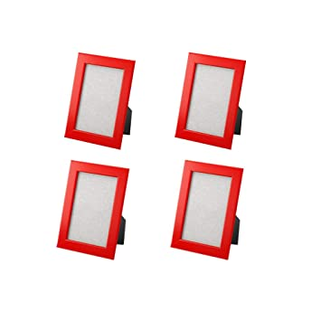 Amazoncom Ikea New Frame Photo Picture 5 X 7 Multicolor 4 Pack