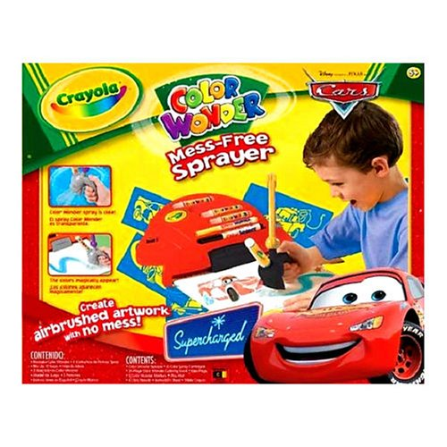 Crayola Cars The Movie Color Wonder Sprayer