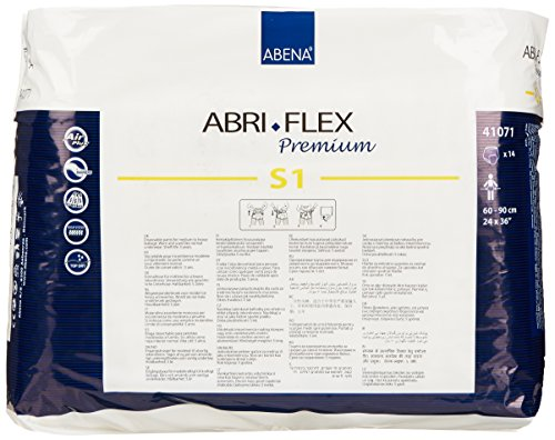 Amazon.com: Abena Abri-Flex Premium Protective Underwear, S1, 14 Count: Health & Personal Care