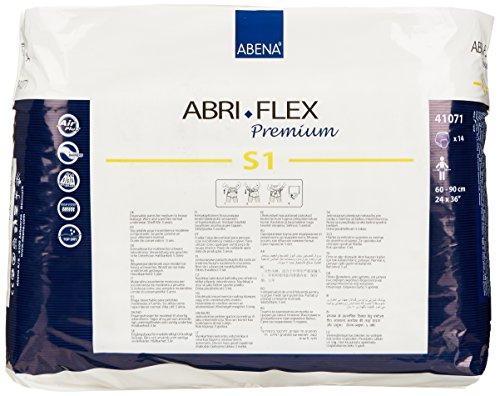Amazon.com: Abena Abri-Flex Premium Protective Underwear, S1, 14 Count: Health & Personal Care