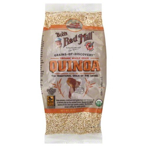 Bobs Red Mill Organic Quinoa Grain, 16 Ounce - 4 per case