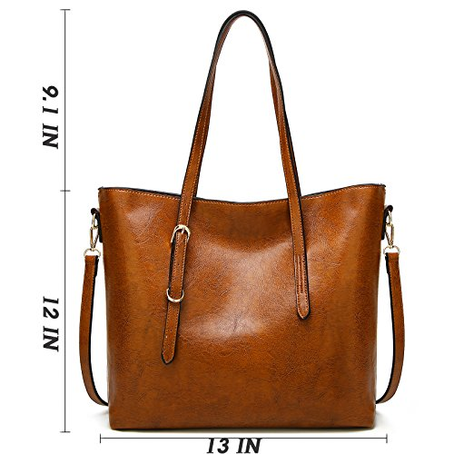 AILLOSA Purses and Handbags for Women Satchel Shoulder Tote Bags by AILLOSA (Image #7)
