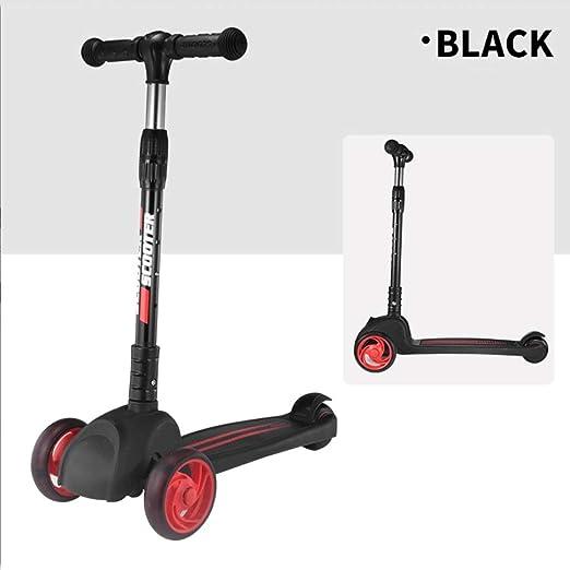 KOBOOW Patinete Scooter De Wheels 3 Plegable Scooter De ...